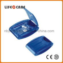 Plastic Pill Box with LED Light for Promotion