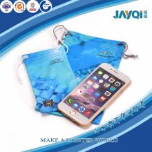 Sublimation Microfiber Cell Phone Drawstring Pouch