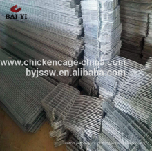 4 Liers Layer Chicken Poultry Battery Cages for Nigerian Farm