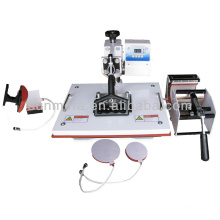 Hot Sale multifunction 5 in 1 Combo Heat Press Machine plate printing machine manufacturer