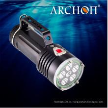 Antorcha de buceo de alta calidad con CREE LED 50watts impermeable 200meters