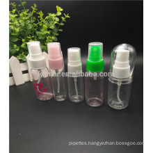 PET plastic 30ml plastic spray bottles