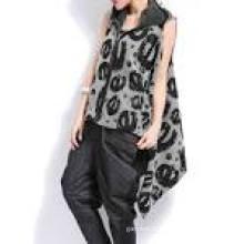 Lady jovem moda sweater mangas compridas Cardigan Knitwear