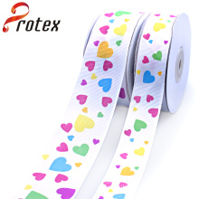 Yama Ribbon 3/8 Inch 9mm Love Grosgrain Printed Ribbon