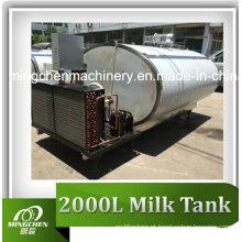 Tanque de resfriamento de leite sanitário