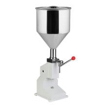 machine de remplissage d'huile de crème machine de remplissage liquide manuelle
