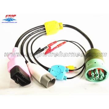 heavy vehicle diagnostic cables