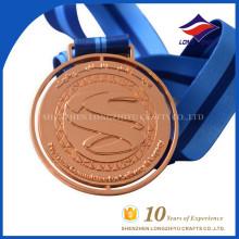 Medalhas de metades fundidas em metal da Uae