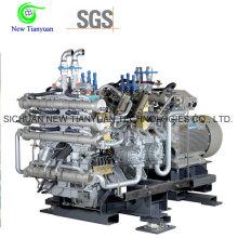 Compresor de pistones CNG comprimido de gas natural