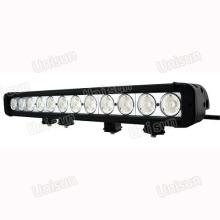 """Barra de luz LED de una hilera de 20 """"12 V 120 W de alto lúmenes"""