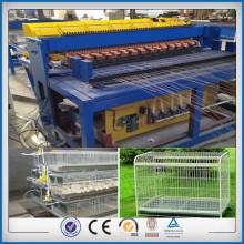 Máquina de solda de gaiola de pássaro de fio de aço