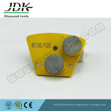 Series of Double Round Diamond Segments Concrete Grinding Pads
