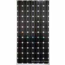 156 mm x 156 mm de tamaño y células solares de material de silicio policristalino