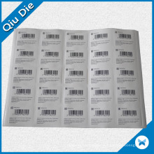 Printed Barcode Sticker for Garment Label