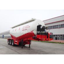 bulk cement powder tank semi trailer