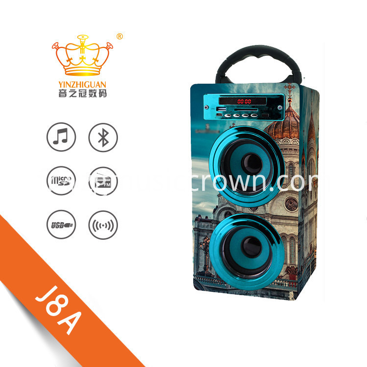 High Quality Portable Bluetooth Speakers