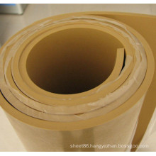 10mm Brown Beige Color Natural Rubber Sheet