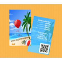 Eco-Friendly Karte mit Barcode