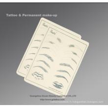 Peau permanente pour la pratique du maquillage (ZX-1041)