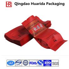 Saco de embalagem de chá plástico personalizado com impressão colorida