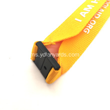 Poliester Lanyards Custom Lanyards