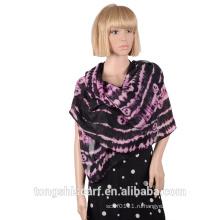 2016 Оптовая полиэфира напечатанный шарф HD361-863