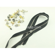 Good Quality for Stainless Steel Autolock Slider Bag Zipper #5 Metal Stainless Steel Slider export to Indonesia Exporter