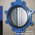 Cast Iron Body C95800/B62 Al-Bronze PTFE Lug Butterfly Valve