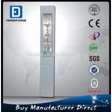 Fangda haute qualité petite porte en verre extérieur épaisseur