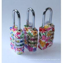 21mm coloridos candados de combinación de latón (bh110213)
