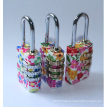 21mm Colorful Brass Combination Padlocks (BH110213)