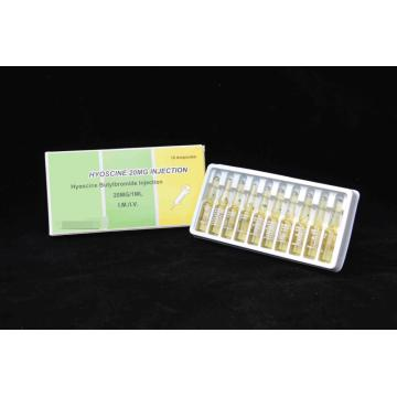 Hyoscine Butylbromide Injection BP 20MG/1ML