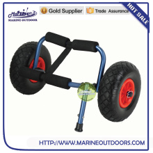 Trailer dolly wheel, Foldable canoe carrier, Aluminum beach cart for kayak