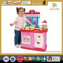 Prerend criança brinquedos cozinha mesa cozinha conjunto