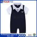 OEM Bonne qualité Bébé Vêtements Lapel Romper Fournisseur (YBY115)