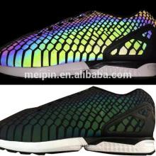Folha reflexiva de Dongguan Rainbow TPU para sapatos