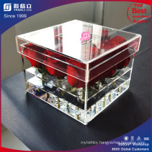 High Transparent Acrylic Flowers Box/Wholesale Clear Acrylic Flowers Box