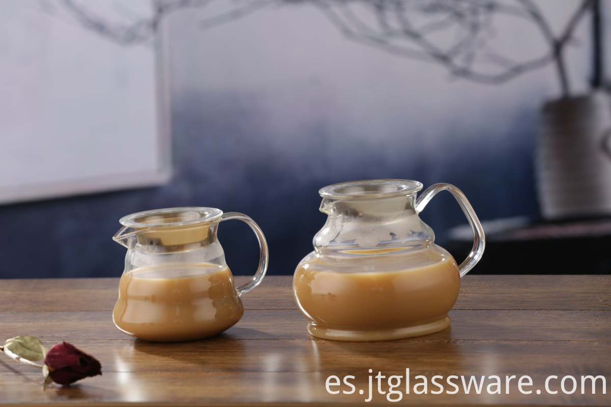 Glass Coffee Pot Server