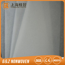 Viscose polyester cotton PP ES spunlace spunbond thermal bond hot air through non woven fabric rolls for