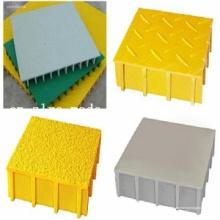 Painel de fibra de vidro / Gratings // Capa superior de alta resistência // Capa reticulada