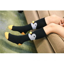 Fantasia Design Fox e Pinguim Ball Padrão Meninas e Meninos Lovely Cotton Socks Estilos Populares