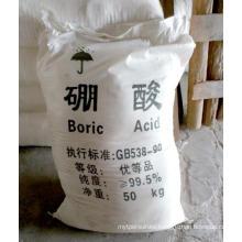 Boric Acid 10043-35-3 H3bo3 Orthoboric Acid Low Price