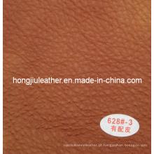 Venda quente de fábrica de couro do sofá de imitação (Hongjiu-628 #)