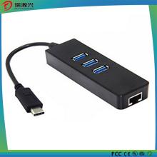 Высокоскоростной Многофункциональный Тип C новейший USB 3.1 хаб с RJ45 портов LAN
