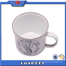 2015 Best Selling Products Custom Enamel Metal Mug