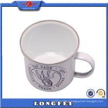 2015 Best Selling Products Custom Enamel Metal Mug