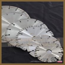 Cuchilla de corte por diamante para soldadura por láser para hormigón de piedra