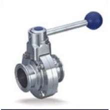 Stainless Steel Clamped End Butterfly Valve