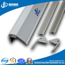 Shopping Center Standard Aluminum LED Non-Slip Metal Nosing
