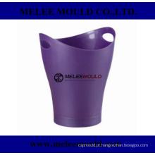 Moldagem de balde de cerveja de armazenamento de gelo plástico